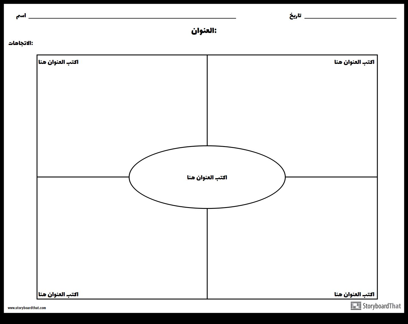نموذج ورقة عمل فارغة Doc Waraqa Blog