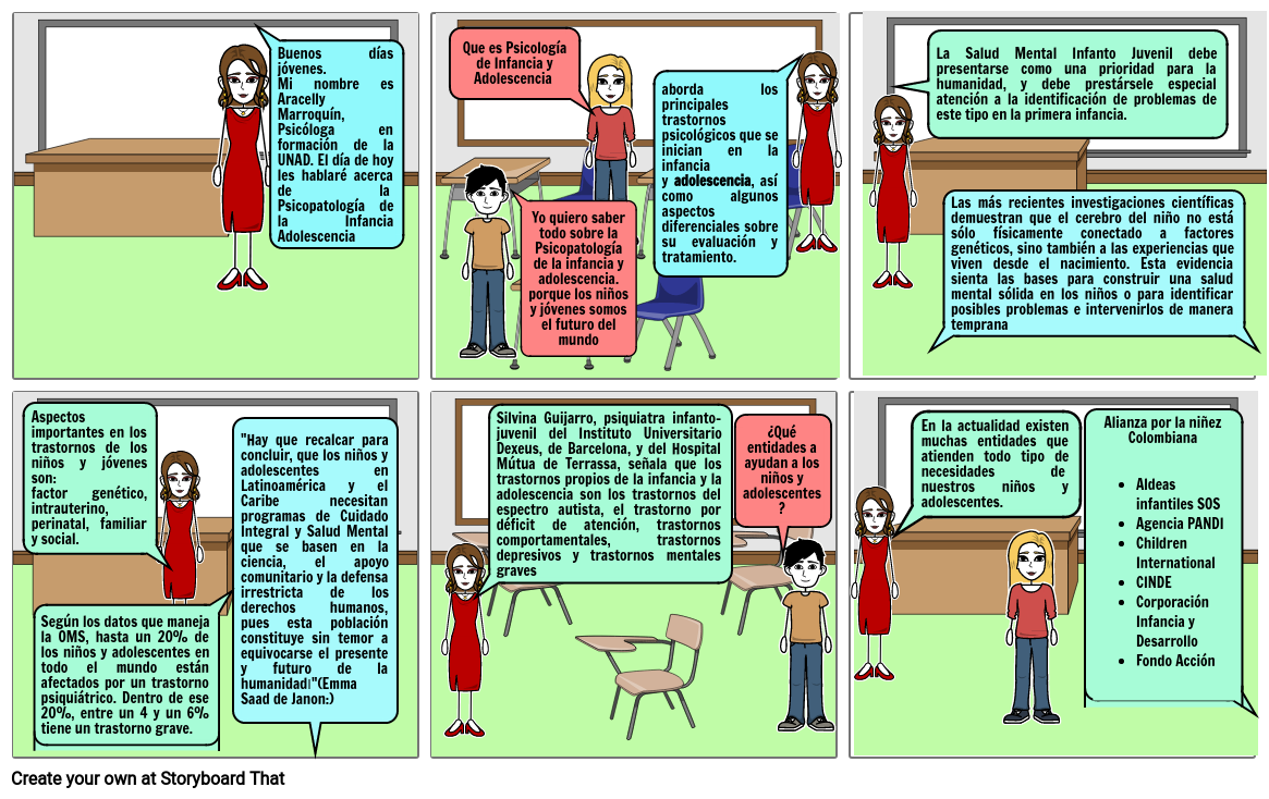 Psicopatología de la niñez y la adolescencia
