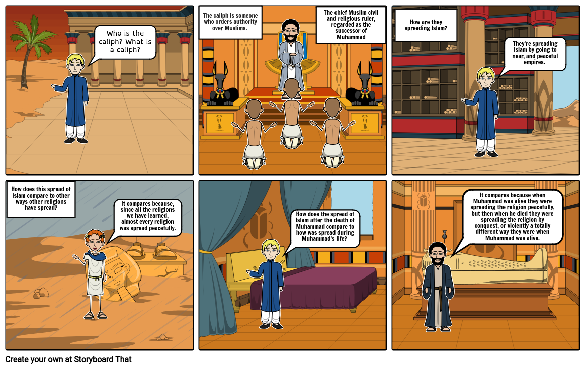 Islamic expansion Comic