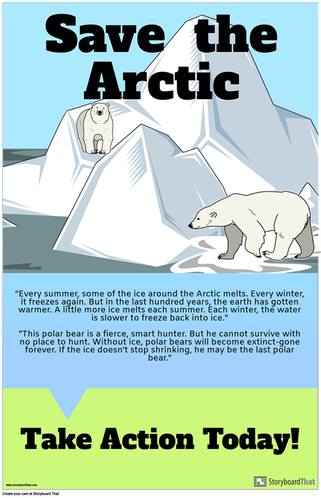 Where Do Polar Bears Live? PSA