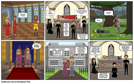 Henry I Storyboard