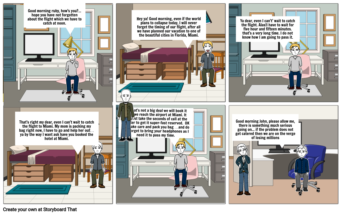Comic story on AT&T network