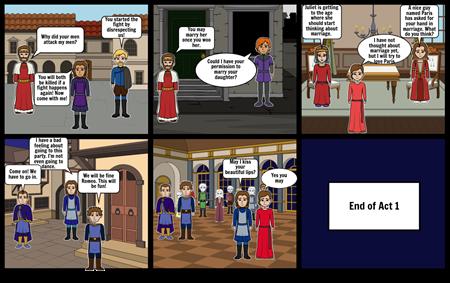 Romeo and Juliet Act 1 scene 1