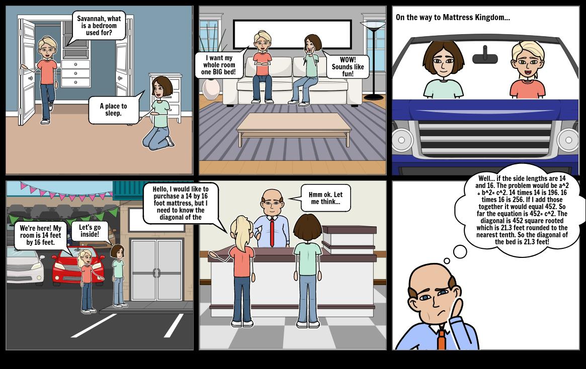 honors algebra comic strip