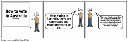 Voting Comic Strip