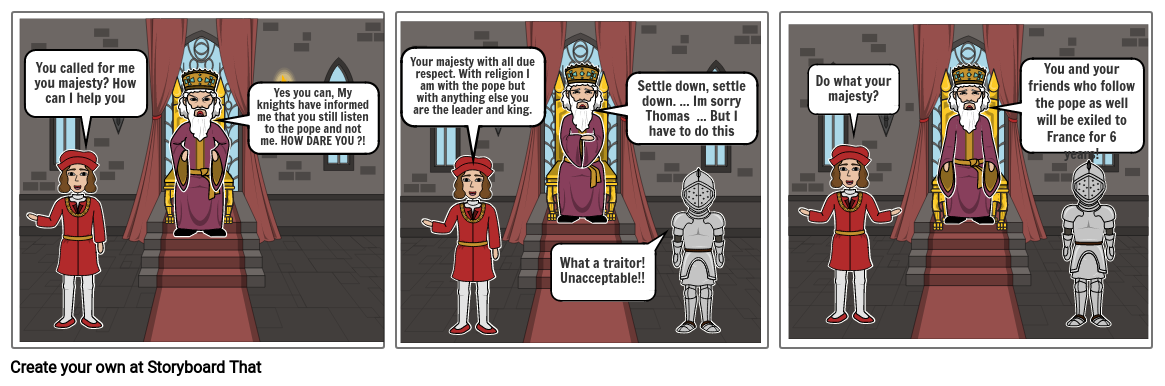 The death of Thomas Becket 2