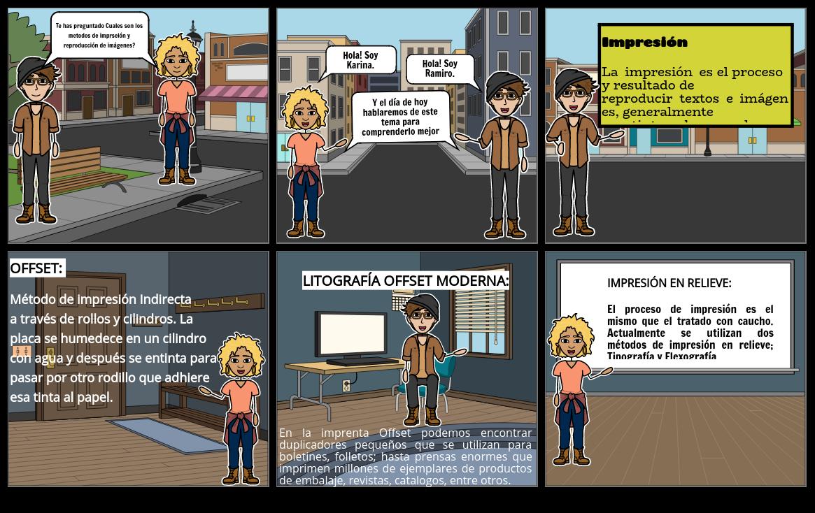 Storyboard Impresion