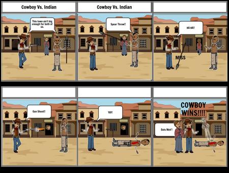 Cowboy Vs. Indian