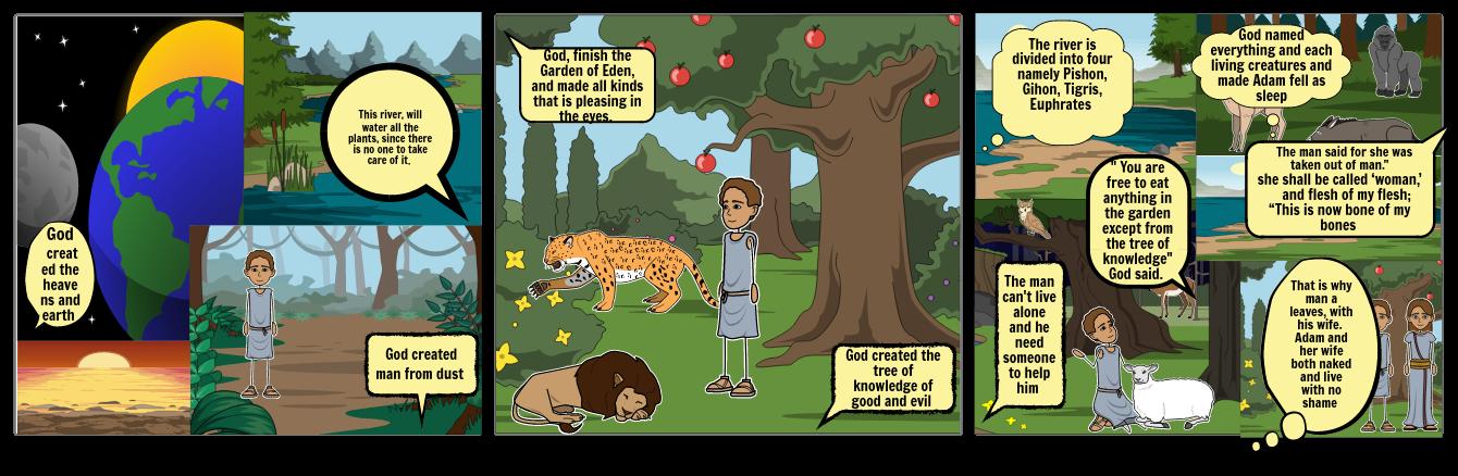 Play in the Garden Genesis 2:4-25