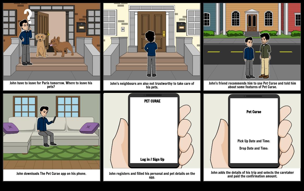 HCI Storyboard