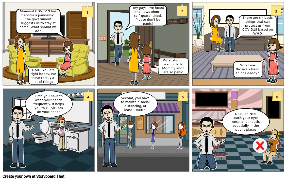 COVID19 Comic