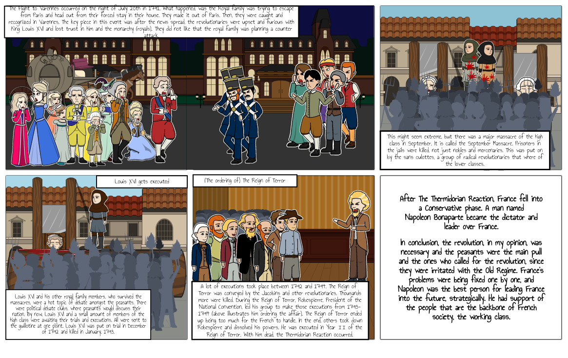 Social Forces at Work Graphic Story- The Lower Class Uprising part 2