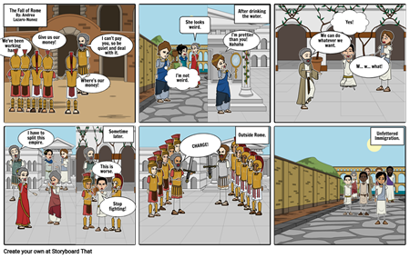 Fall of Rome: Andrea Lazaro-Nunez