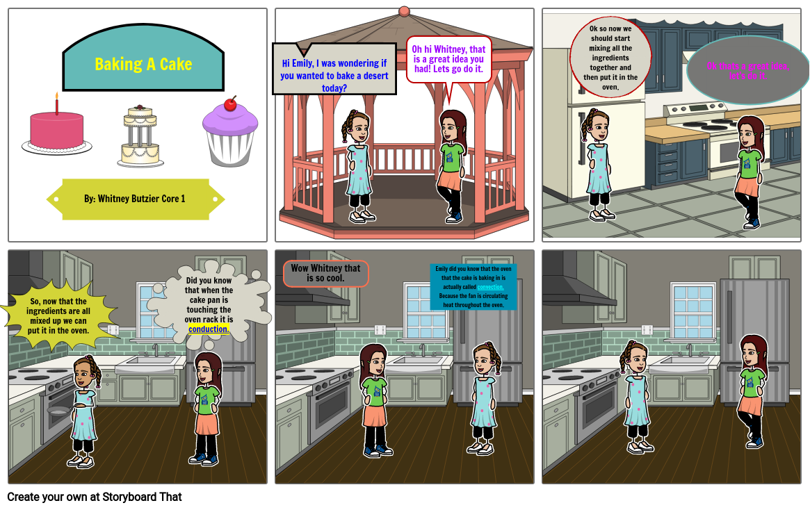 Comic strip for science: Whitney Butzier