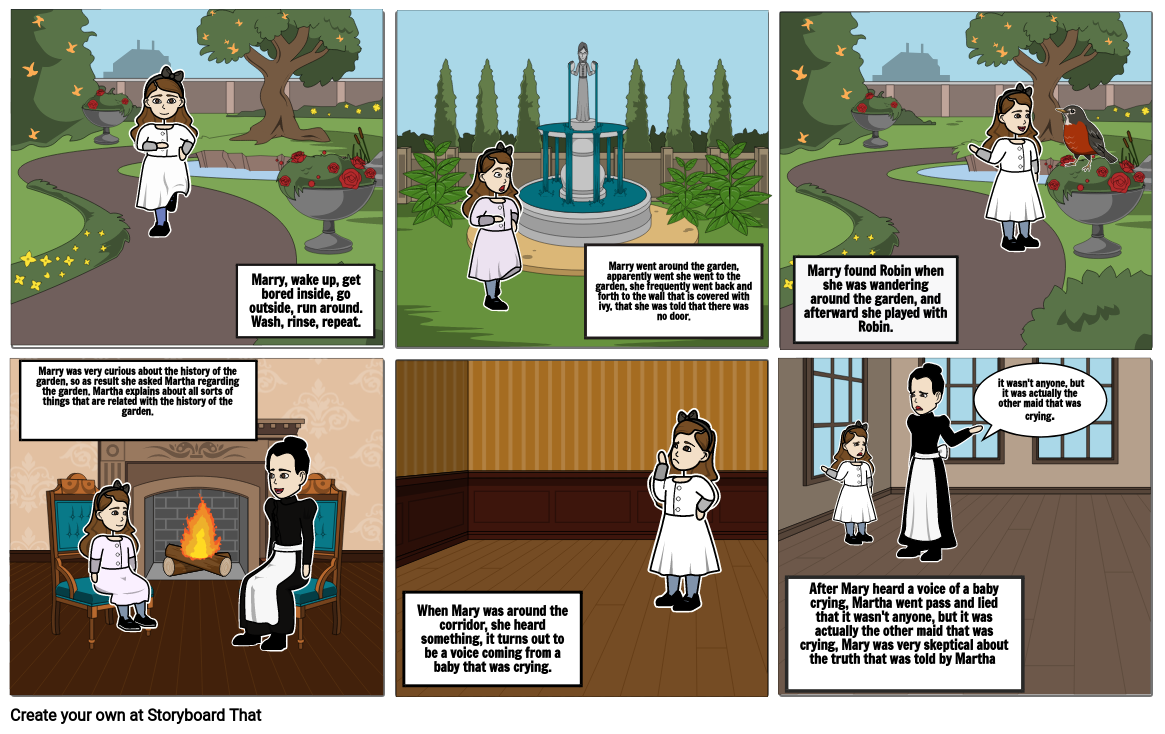 Chapter 5 Story board
