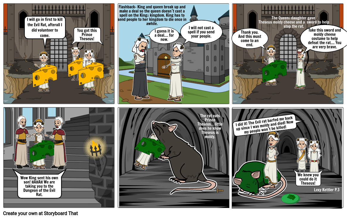 Into the Dungeon of Doom- Theseus and the Evil Pet Rat