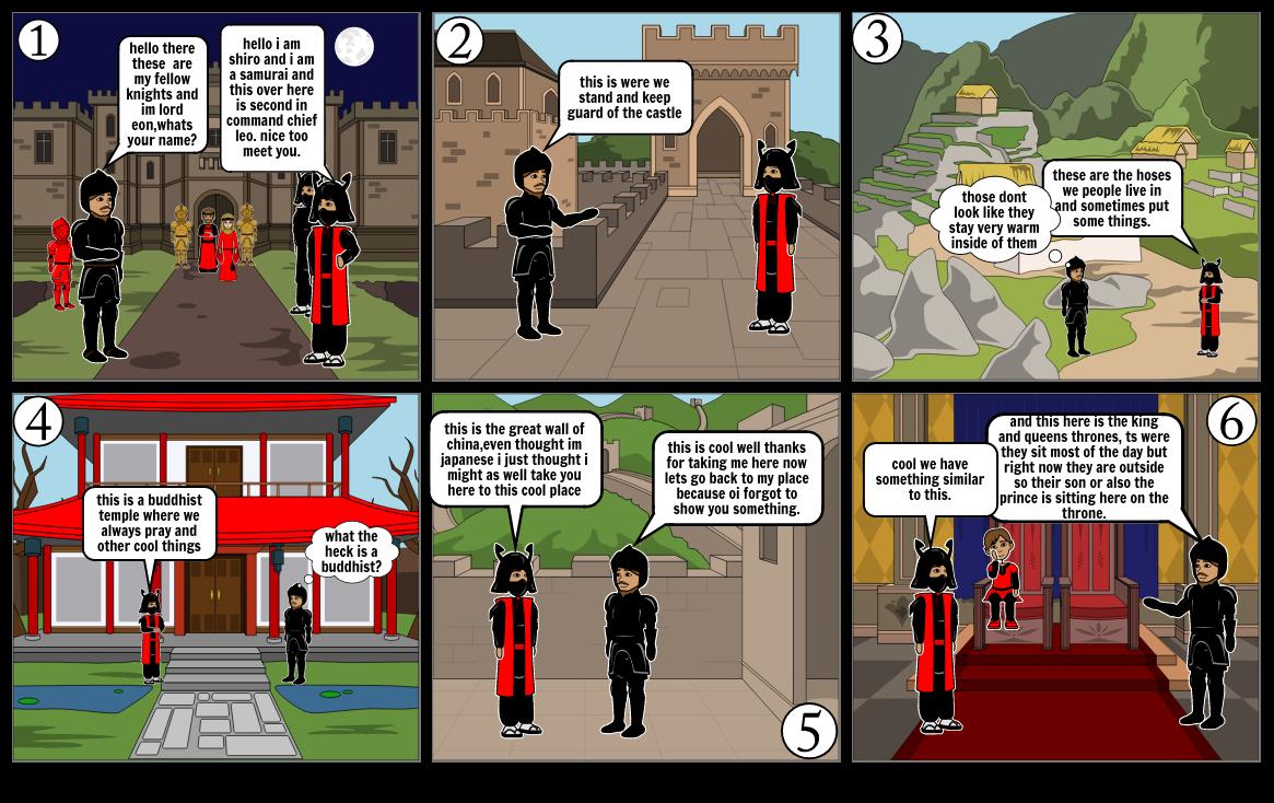 feudalism cartoons