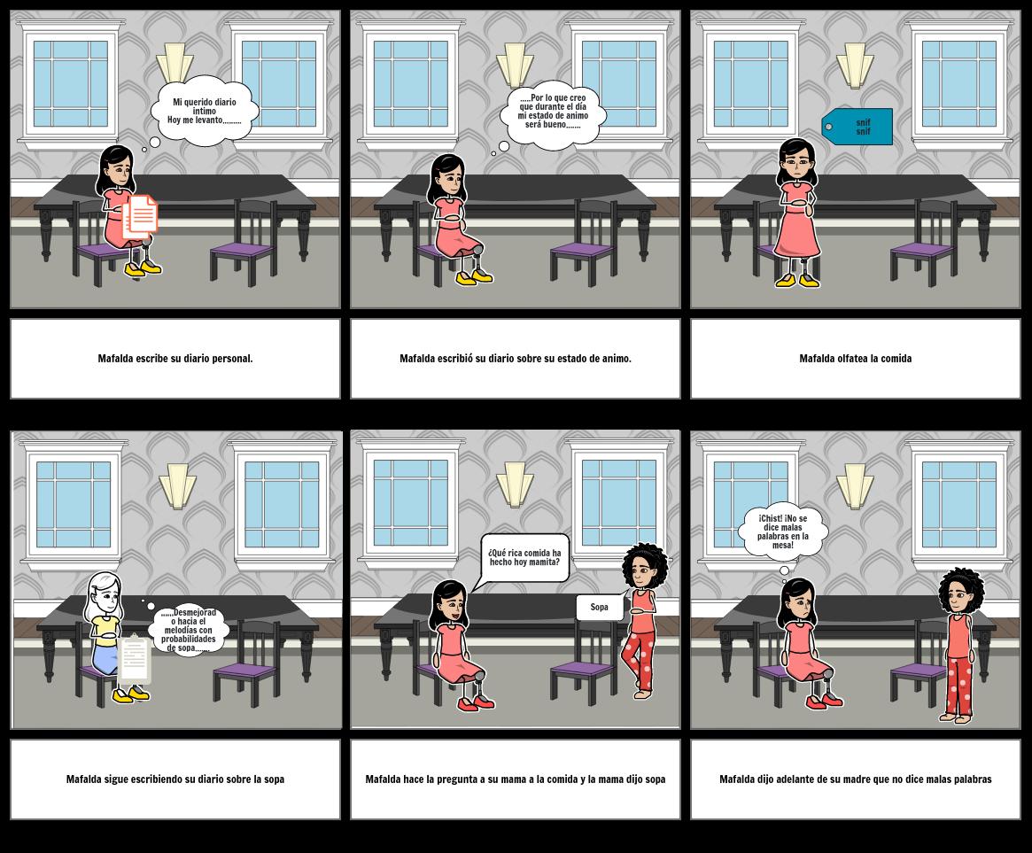 Mafalda la sopa