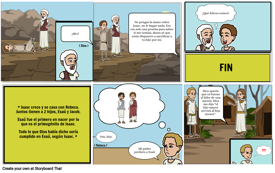 La historia de Abraham