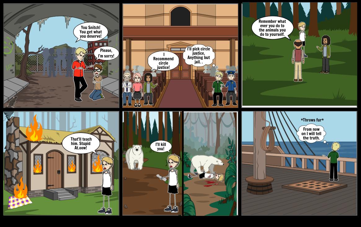 Kemi's Spirit bear Comic