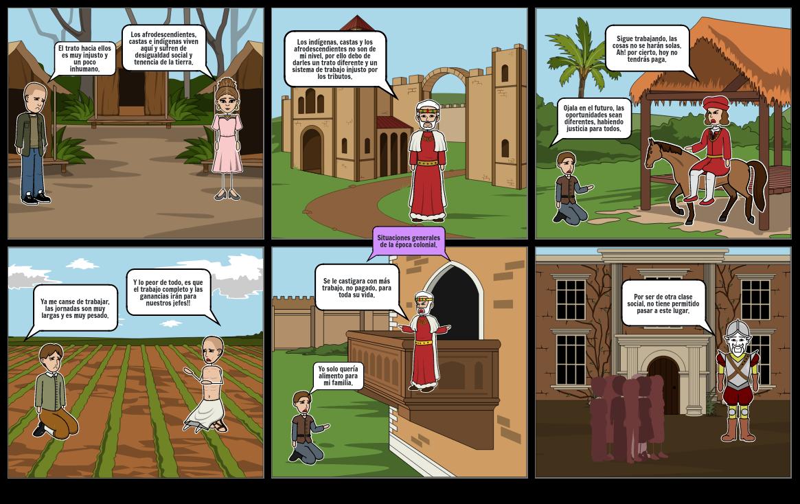 Situaciones de la Época Colonial