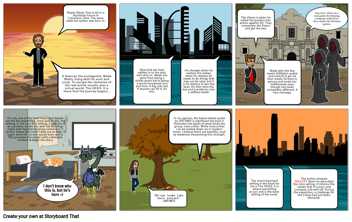 RPO Story Board - English Project