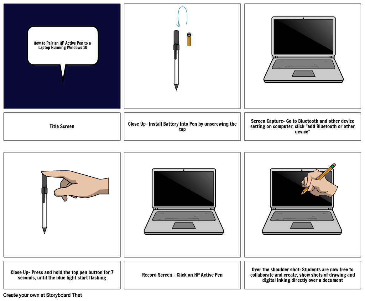How To Pair HP Pen