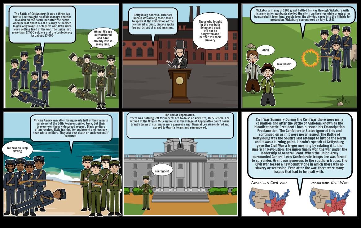 SS comic strip