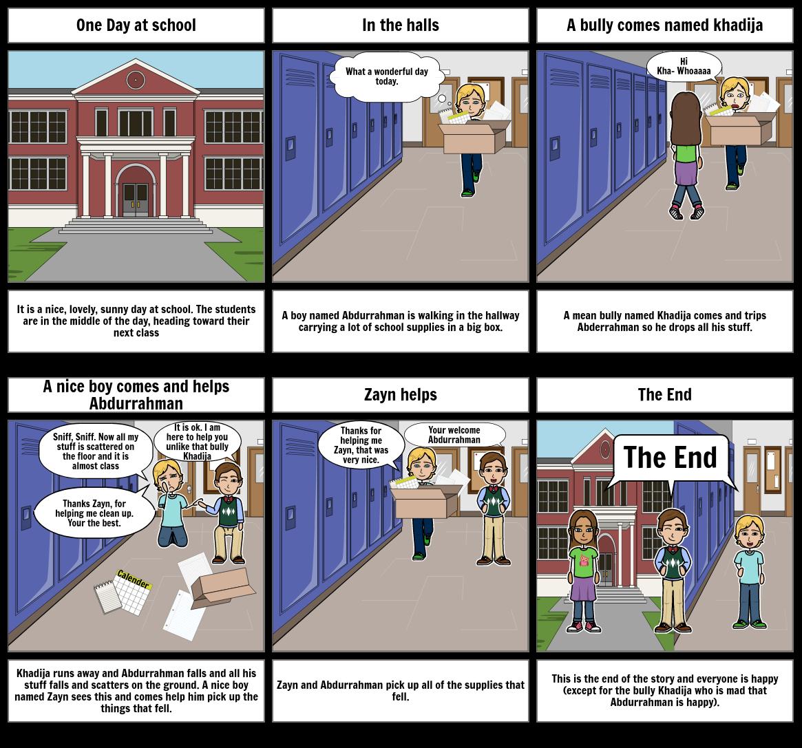 Mostfa Empathy Comic Script