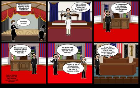 Andrew Johnson' Impeachment