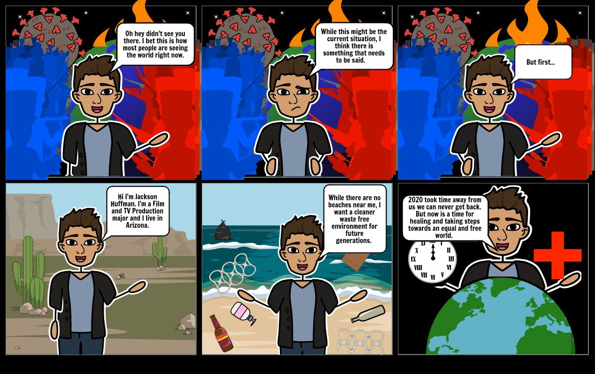 ENVS Comic Strip