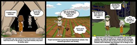 comic strip 1.  food