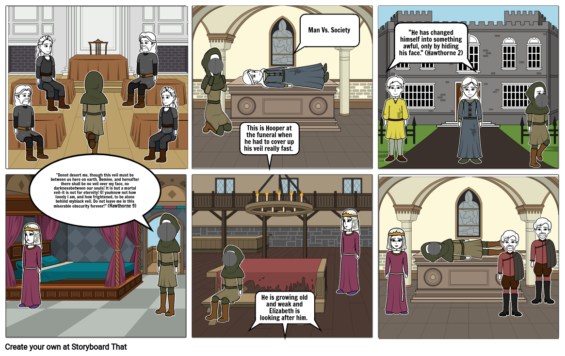 The Ministers Black Veil Storyboard