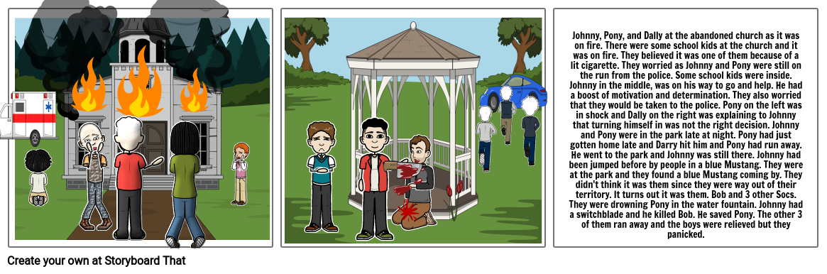 The Outsiders Chapter 1-7 Project