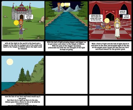 Myth storyboard 2