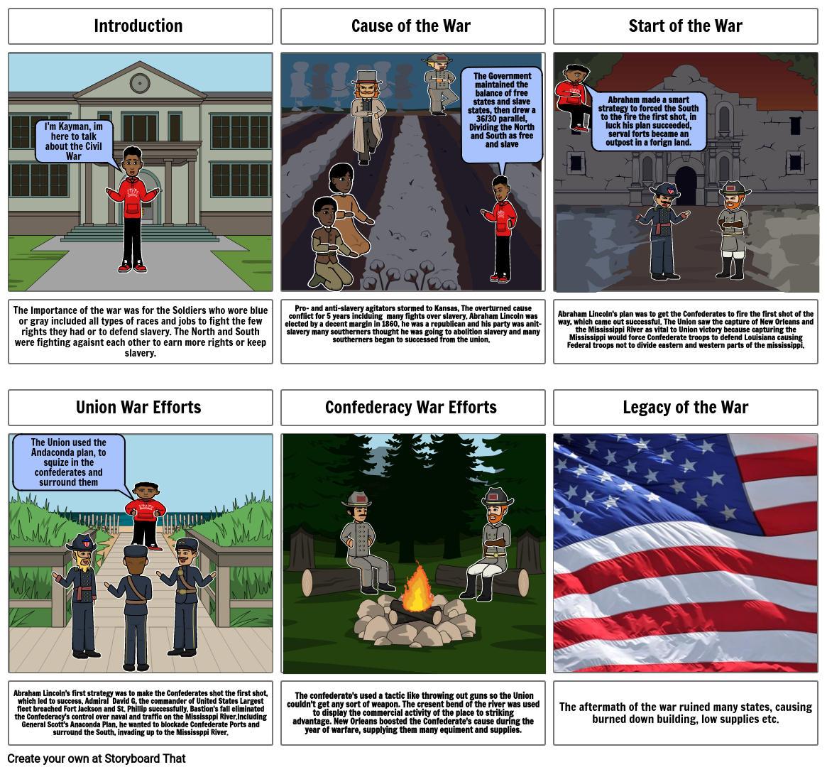 Kayman's Civil War project