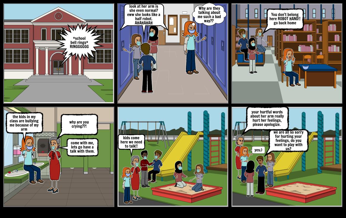 anti-bullying Farah/Yasmine 9A ICT