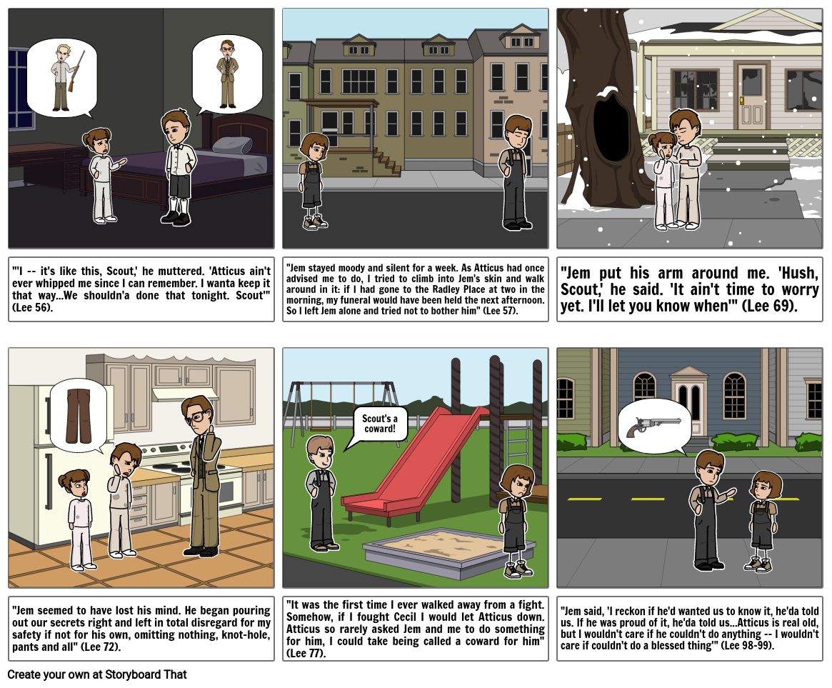Coming of Age - To Kill a Mockingbird Ch. 6 - 10