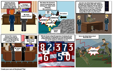 The United States Join World War One