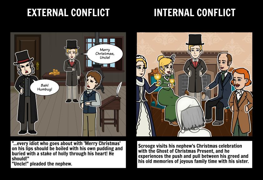 A Christmas Carol - Conflict