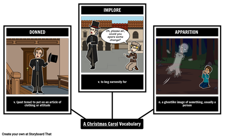A Christmas Carol - Vocabulary