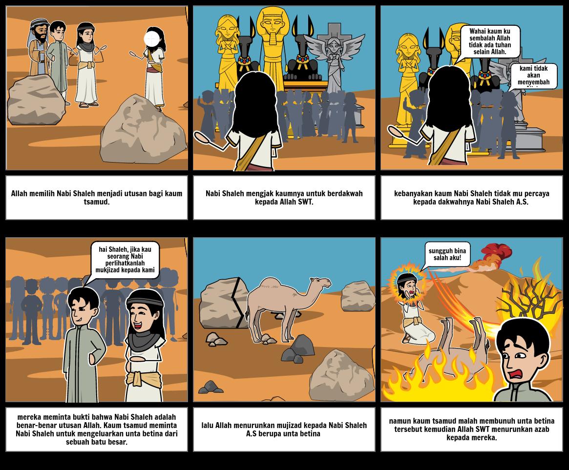 kisah Nabi Shaleh A.S