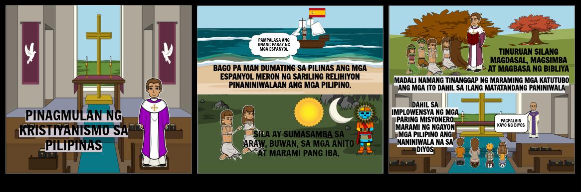 Pinagmulan ng Kristiyanismo sa Pilipinas