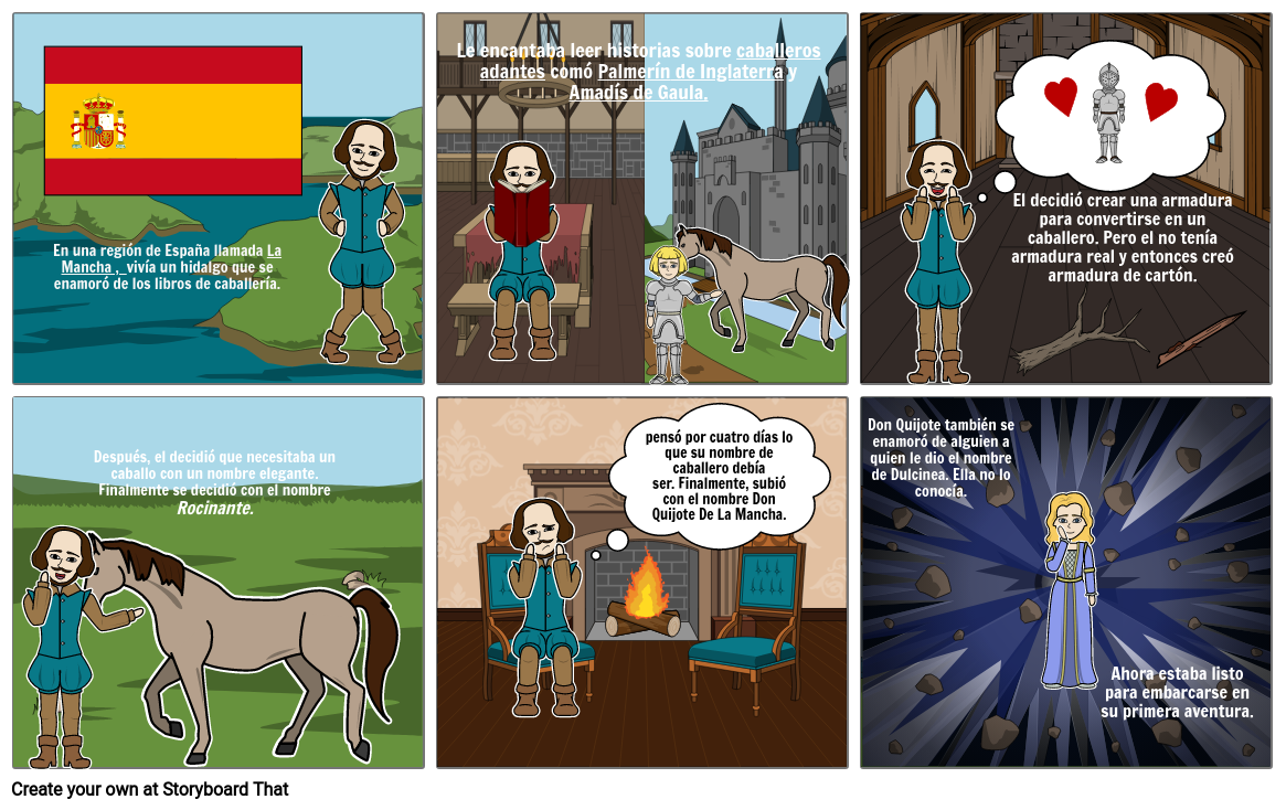 Don Quijote Capitulo 1