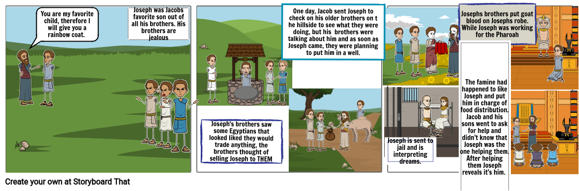 The story of Joseph and his brothers