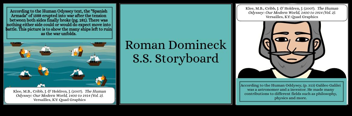 Social Studies Storyboard