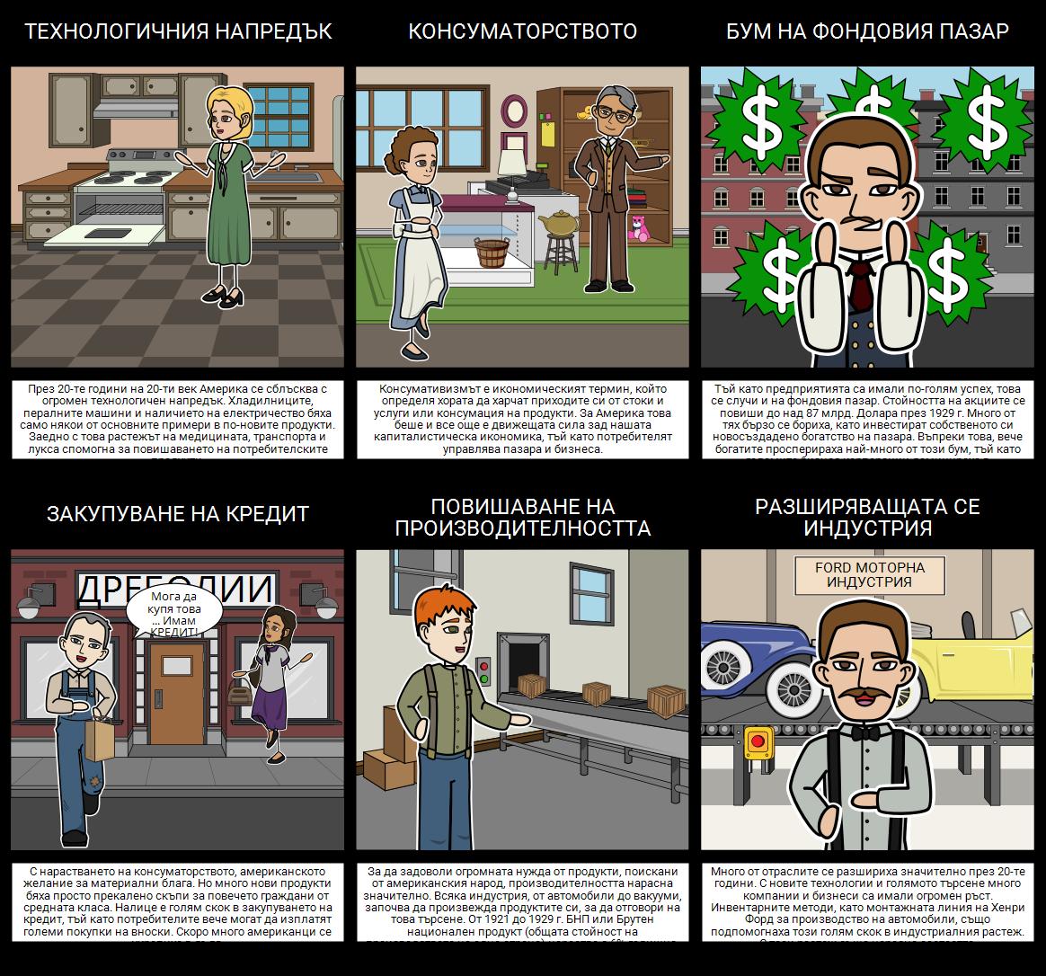 Голямата Депресия - Възходът на Американската Икономика