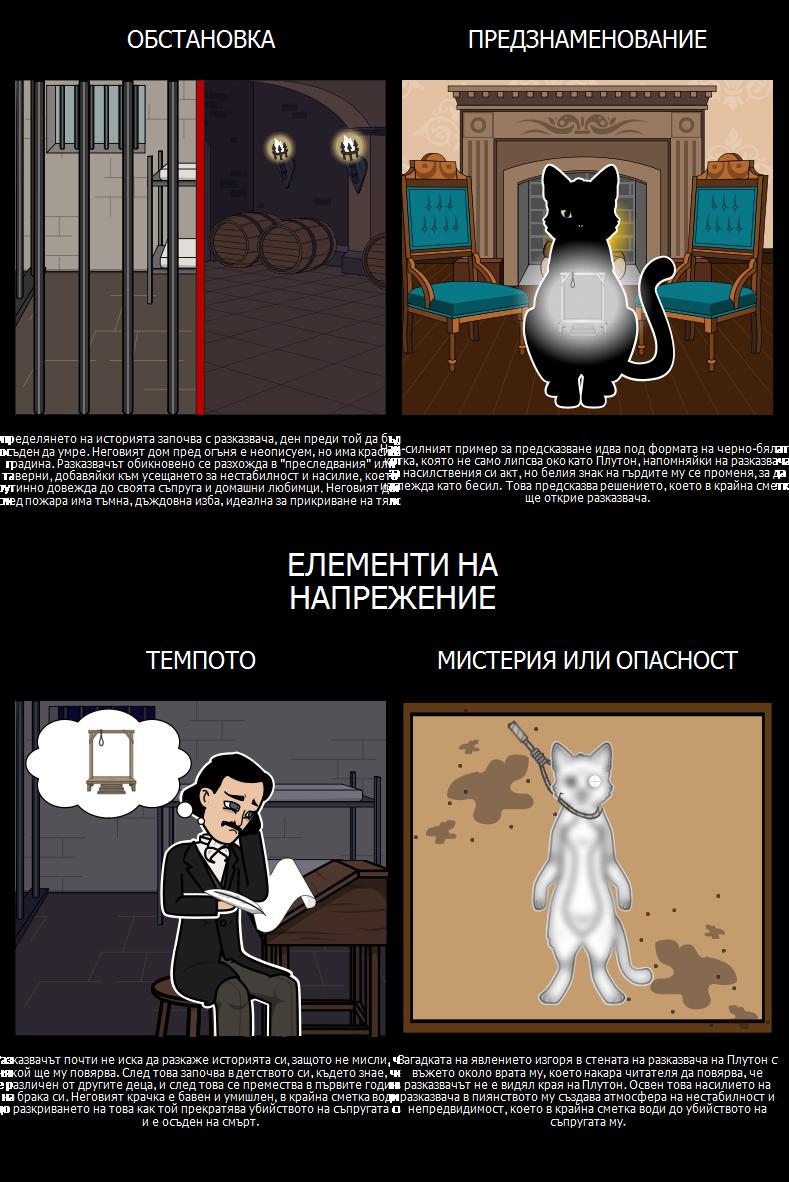 Елементи на Суспензия в Черната Котка