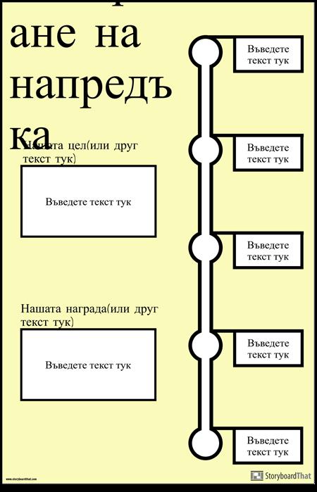 Плакат за Измерване на Напредъка