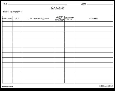 Контролен Списък за Мрежата